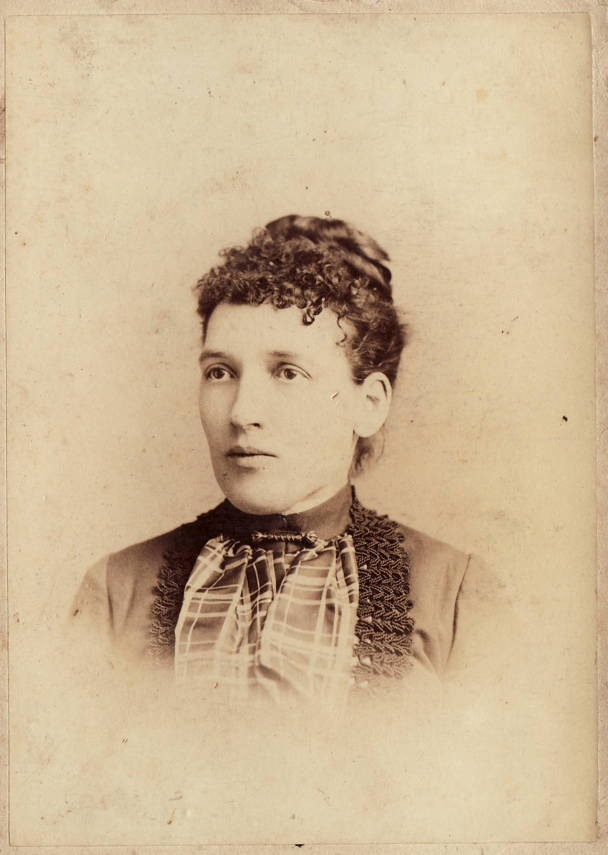 Jessie Willway Russell, about 1890