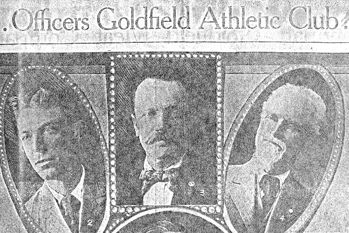 Goldfield Athletic Club Officers