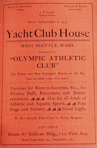 1904 Seattle Directory